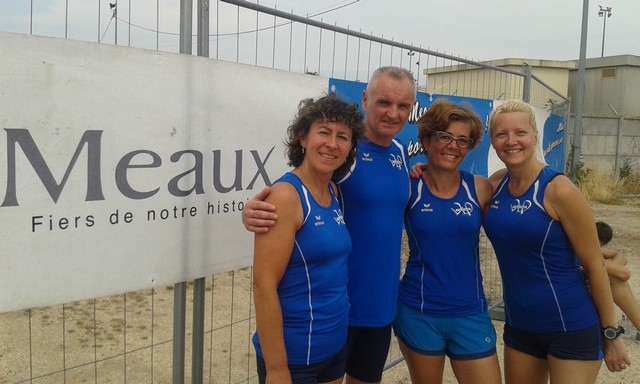 Cathy, Eric, Isabelle et Nathalie
