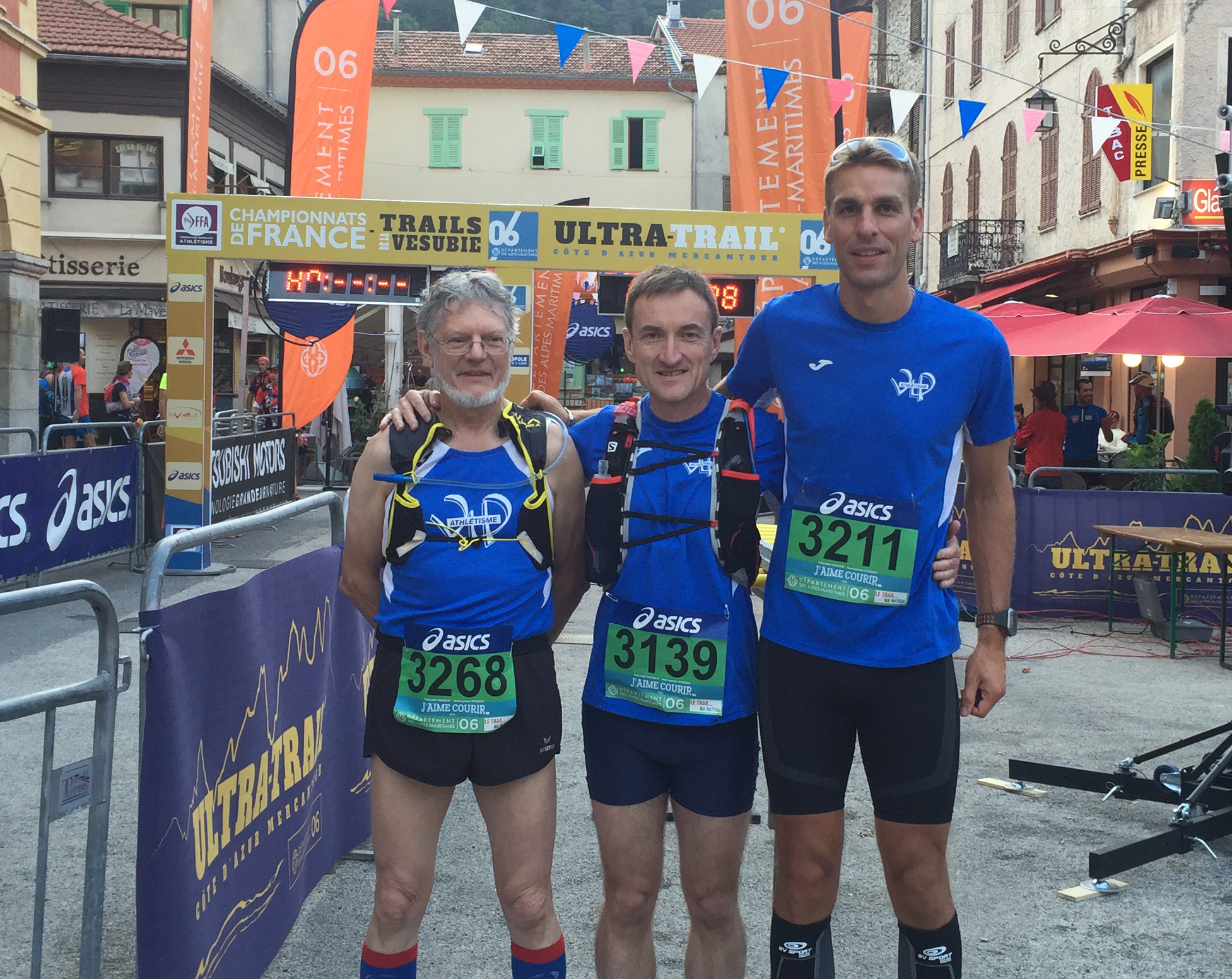 Championnat de France 2016 de trail court 30 km 2016, Trail Vesubie France